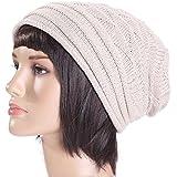 ddd029e5d107 Gshy Bonnet Tricoté Femme Chaud Beanie Hiver Crochet Unisexe pour Hip-hop  Hiver