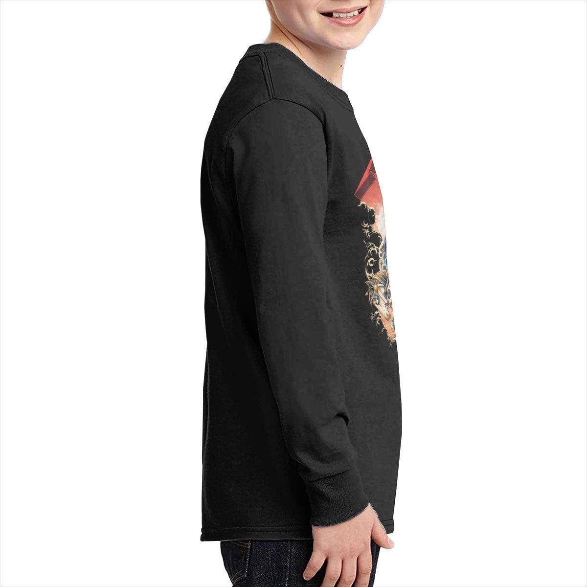 Optumus Metallica Four Horsemen Kids Sweatshirts Long Sleeve T Shirt Boy Girl Children Teenagers Unisex Tee