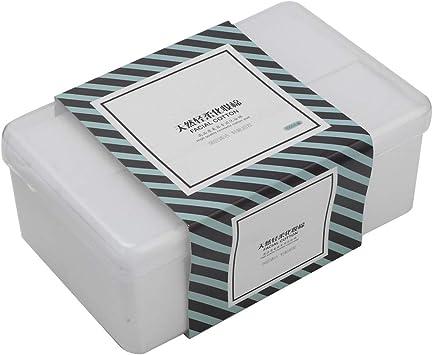 1000 Unids/Caja de Almohadillas de Algodón para Maquillaje ...
