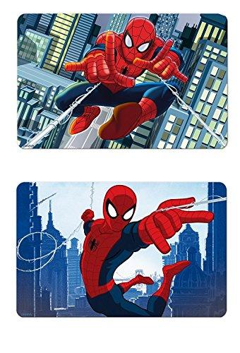 Repas gar/çon Set dessous de table bureau 3D Spiderman Marvel 192 ALEATOIRE