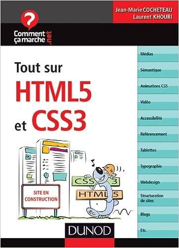 En ligne téléchargement Tout sur HTML5 et CSS3 pdf, epub ebook