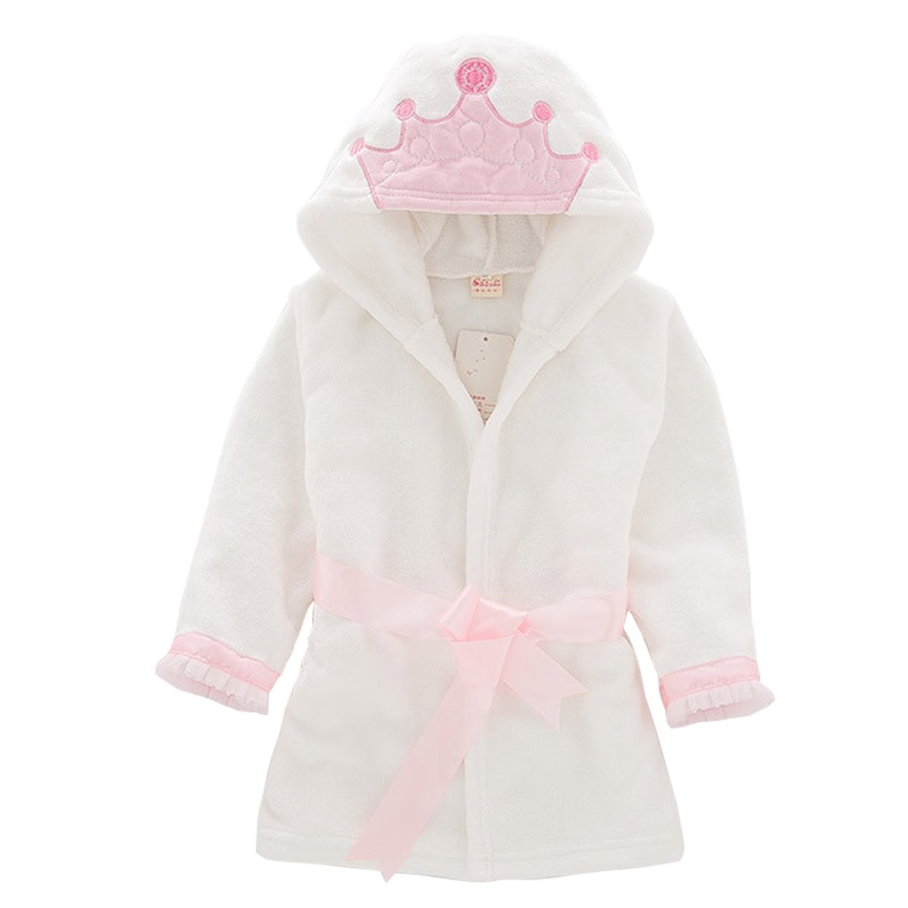 Vine Toddler Kids Bathrobe Hooded Nightgown Baby Sleepwear Robes Animal Towel Pajamas Vine Trading Co. Ltd K180704YP003V
