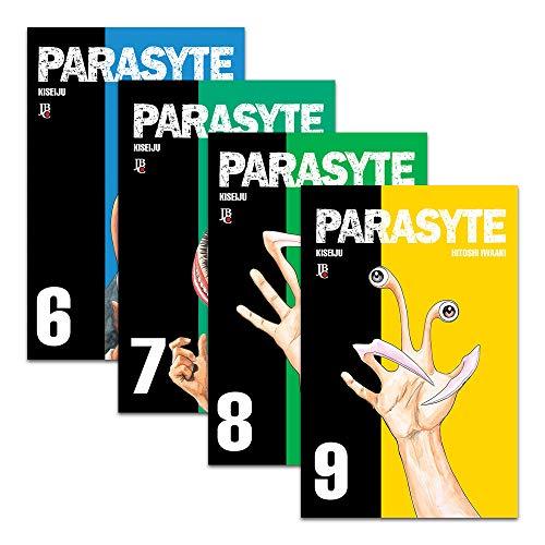 Coleção Parasyte Volumes Hitoshi Iwaaki