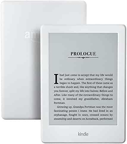 Kindle E-reader (Previous Generation - 8th) - White, 6