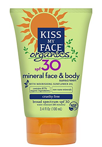 Kiss My Face Mineral Sunscreen