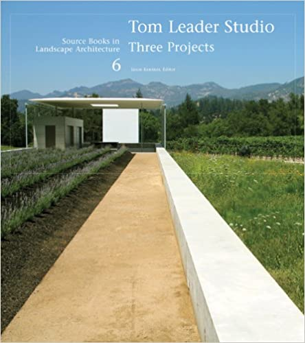 Book Tom Leader Studio: Three Projects (Source Books in Landscape Architecture)
