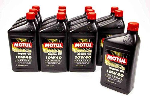 Motul 2810QTA-12 10W-40 Break-in Oil - 1 Quart Bottle, (Case of 12)