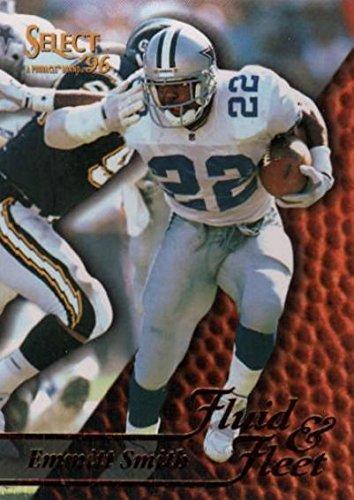 1996 Pinnacle Football (Emmitt Smith Football Card (Dallas Cowboys) 1996 Pinnacle Select #187)