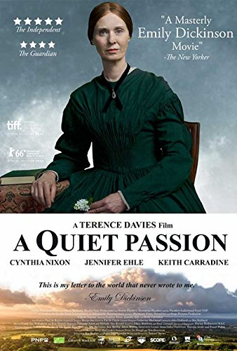 A Quiet Passion Movie Poster, Cynthia Nixon, Jennifer Ehle, Canadian A, Made In The