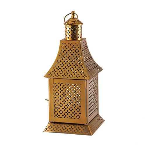 Vela de oro KOEHLER Linterna estilo árabe exótico