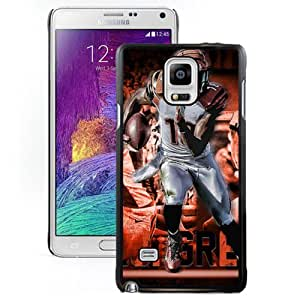 American Football Player Aj Green Number-18 02 Black Abstract Samsung Galaxy Note 4 Phone Case