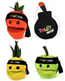 "Fruit Ninja 5"" Plush With Sound Set Of 4"