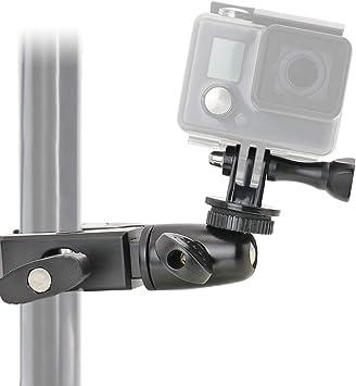 EXSHOW Soporte para GoPro Hero 7 6 5 4, 360° Giratorio Camera ...