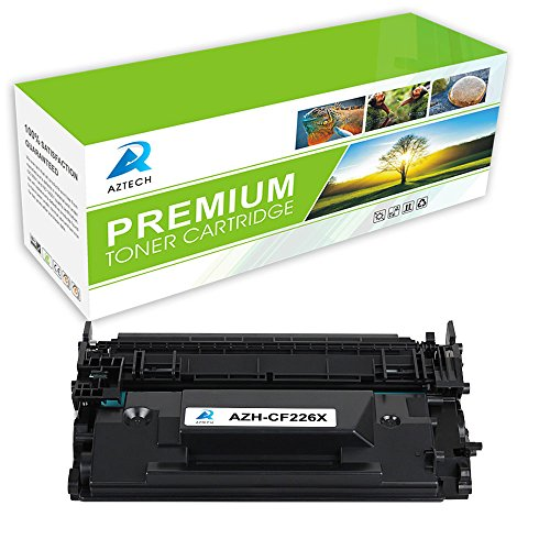 AZTECH 1 Pack 9,000 Pages Yield Black Compatible Toner Cartridge Replaces HP CF226X CF226 26X For HP LaserJet Pro M402dn M402n M402d M402dw, MFP M426dw M426fdw M426fdn Printer