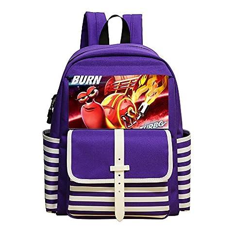 Turbo Thematic Mini Backpacks Kids School Bag Unisex Children Kindergarten Bags (Lego Mona Lisa)