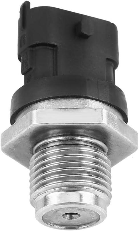 for Chevrolet LBZ LMM 6.6L GM Duramax 2006-2010 Car Fuel Rail Injection Pressure Sensor 0281002971 KIMISS High Pressure Fuel Sensor