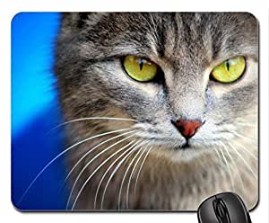 Cat Eyes Mouse Pad, Mousepad (Cats Mouse Pad)