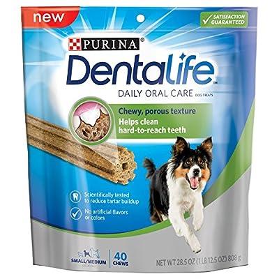 Purina DentaLife Daily Oral Care Small/Medium Dog Treats from Nestlé Purina Dry Truckload