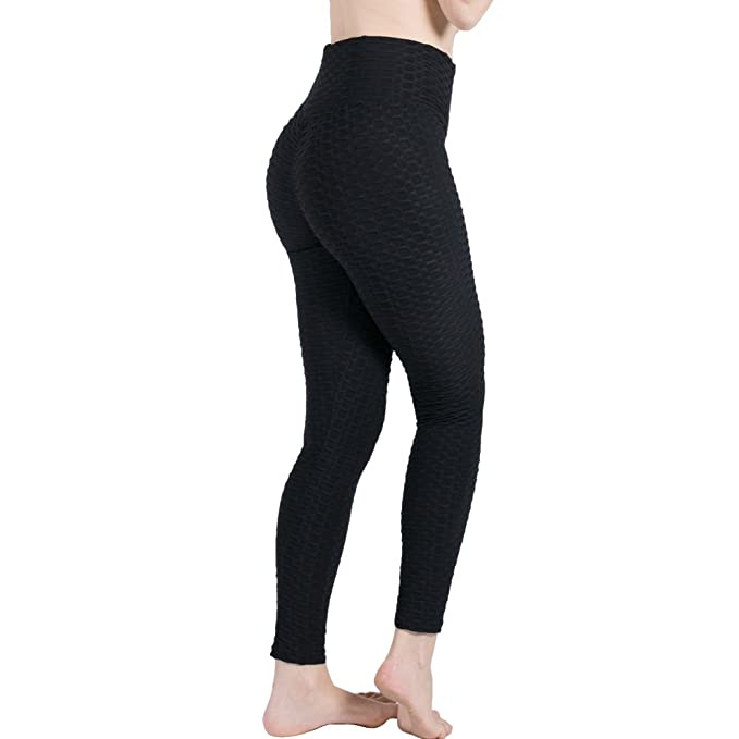 6f456b6974c97 Totoci Women's Yoga Pants Ruched Butt Lifting High Waisted Stretchy Slim  Fit Workout Running Leggings (