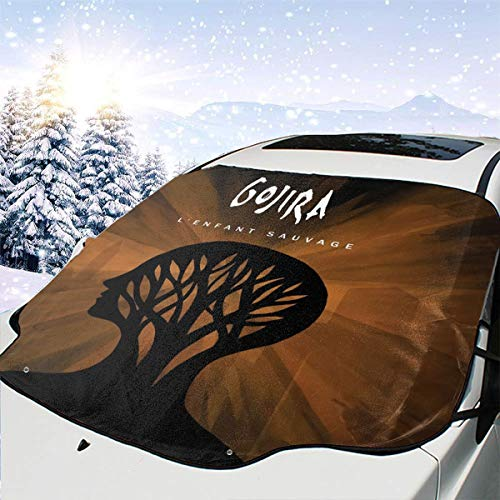 JamesMSmit Gojira L'Enfant Sauvage Car Windshield Sunshade,car Sunshade,Protected from UV Rays