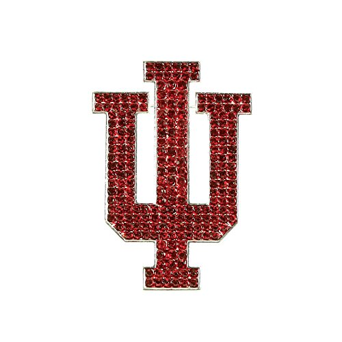 Indiana University Crystal Pin - Indiana Hoosiers Pins