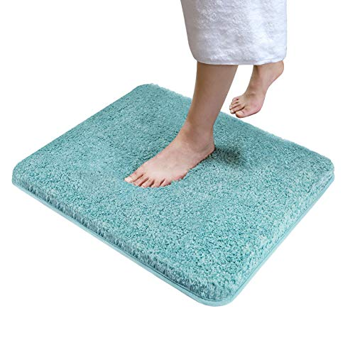 "Tuddrom Shaggy Microfiber Bathroom Rug Mat,24""x20"", Extra Soft and Absorbent Fluffy Rugs,Machine Washable Non-Slip…"