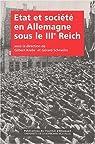 Etat et societe en Allemagne sous iiie reich. 23 par Krebs
