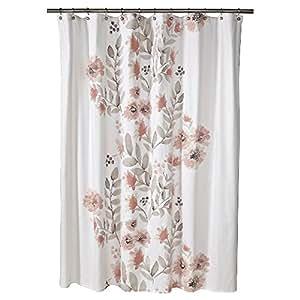 Threshold Flat Weave Shower Curtain Home Kitchen