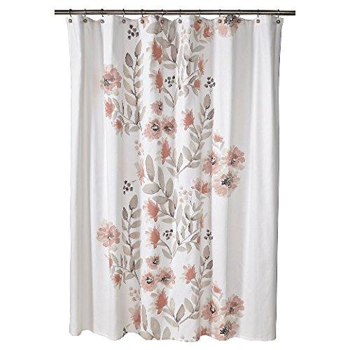 Threshold Flat Weave Shower Curtain NEW