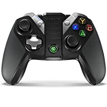 GameSir G4s Bluetooth Wireless Gaming Controller Gamepad for Android Smartphone/ Tablet/ TV BOX, PC Windows 10/8.1/8/7/Visa PC, Samsung Gear VR, PS3