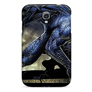 Scratch Resistant Hard Phone Cases For Samsung Galaxy S4 With Unique Design Stylish Venom Skin MansourMurray