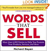 #4: Words that Sell: More than 6000 Entries to Help You Promote Your Products, Services, and Ideas
