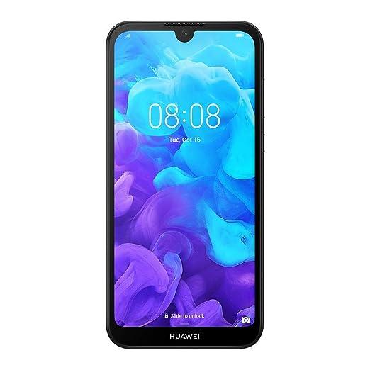 "Huawei Y5 2019, Smartphone de 5.71"" (RAM de 2 GB, Memoria de 16 GB, Dual Nano, 3020 mAh, Cámara de 13 MP), Wi-Fi 802.11 b/g/n, Bluetooth 5.0, Android, Negro"