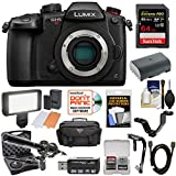 Panasonic Lumix DC-GH5S Wi-Fi C4K Digital Camera Body 64GB Card + Battery + Case + Video Light + Microphone + Stabilizer Kit Review