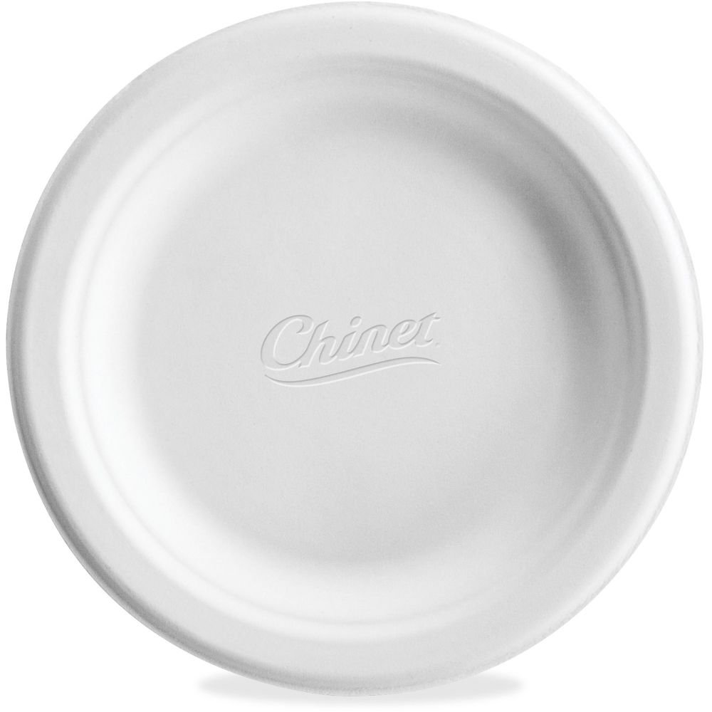 Chinet Paper Dinnerware, Plates, 6``, 1000/CT, White - HUHVACATECT ##buydmi