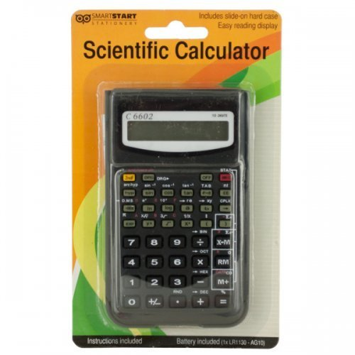 Scientific Calculator With Slide-On Case - Pack of 8 from bulk buys