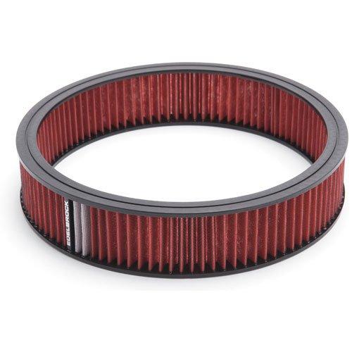 Edelbrock 43666 Air Cleaner Element, Red
