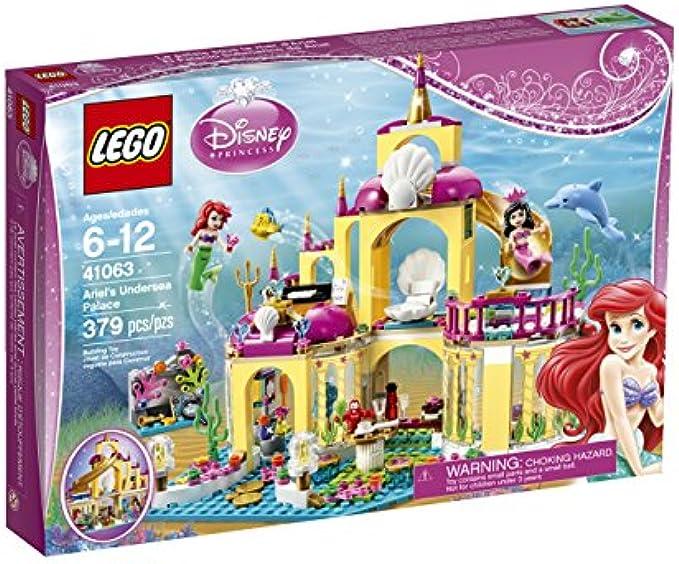 LEGO Disney Princess 41063 הארמון התת ימי של אריאל