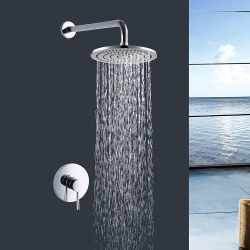 Assembly Sterling Cartridge - Lightinthebox Modern Home Decor Bathroom Lavatory Shower Head Shower Faucet Single Handle Ceramic Valve
