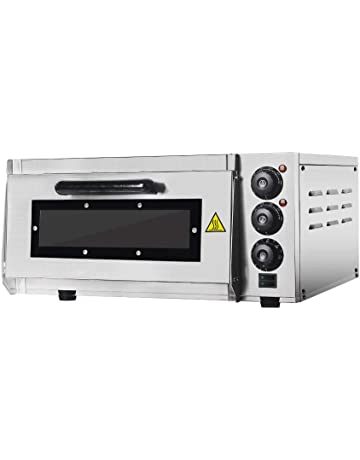 Professional Pizza Oven with 400 x 400 mm Ladrillos refractarios Back Surface, Gastro Horno de