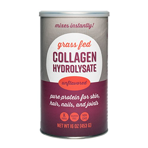 Collagen Hydrolysate, Grass-Fed Pure Protein Powder, Unflavored, 16 oz Review
