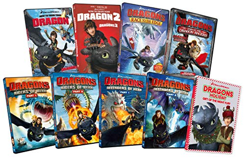 Rider Trains - How To Train Your Dragon 1 & 2 / Dragons Defender Of Berk: Part 1 & 2 / Dragons Riders Of Berk: Park 1 & 2 / Dragons Dawn Of The Dragon Racers / Dragons Race To The Edge / Dragons Holiday