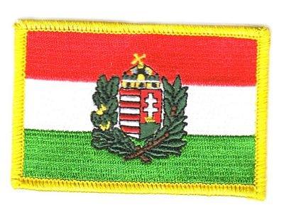 Flaggen Aufn/äher Patch Ungarn Wappen Fahne Flagge