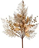 RAZ Imports Floral Gold and Silver Tree Topper