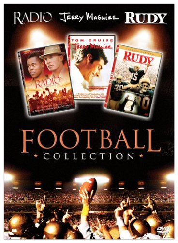 Football Collection (Radio / Jerry Maguire / Rudy) DVD Box Set by ASTIN,SEAN