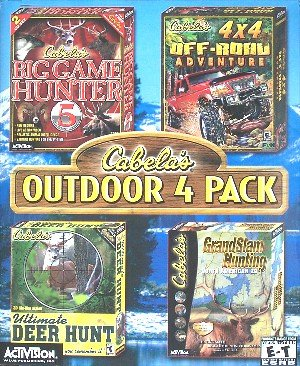 Activision Cabela's Outdoor 4 Pack