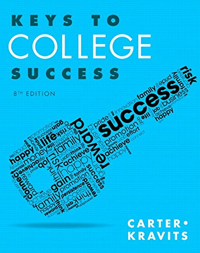Keys to College Success Plus MyLab Student Success with Pearson eText -- Access Card Package (8th Edition) (Key Series Audience-specific)