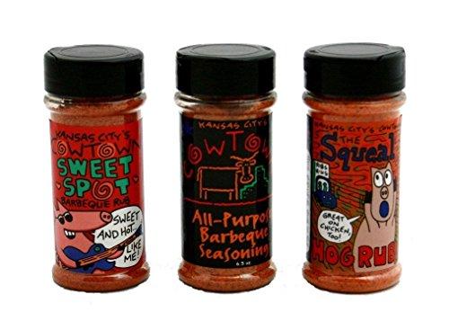 Cowtown BBQ Seasoning Trio- 3 pack (3 different seasonings)