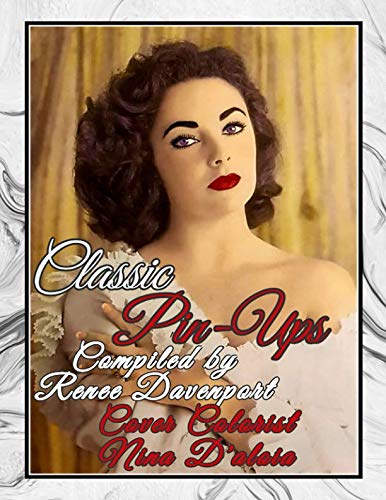 Classic Pin-Ups: Grayscale Adult Coloring Book (Classic Movie -