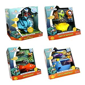 Octonauts Combo - Gup A, B, C and D